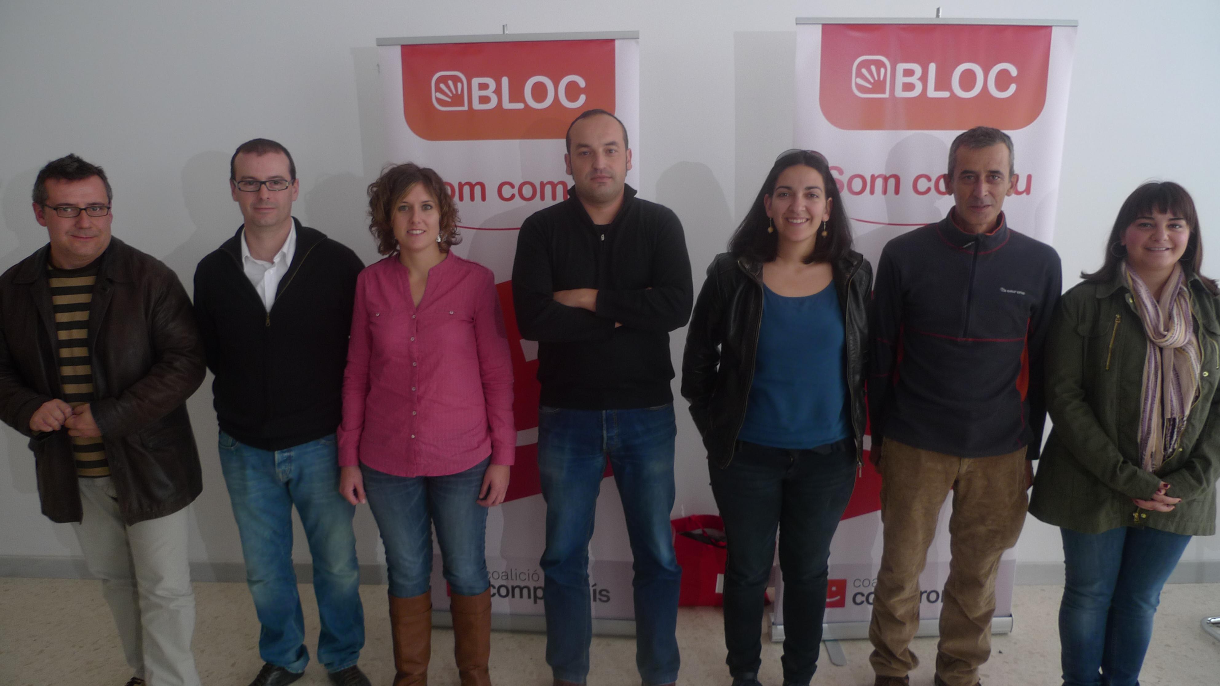 Permanent de BLOC a la Vall d'Albaida