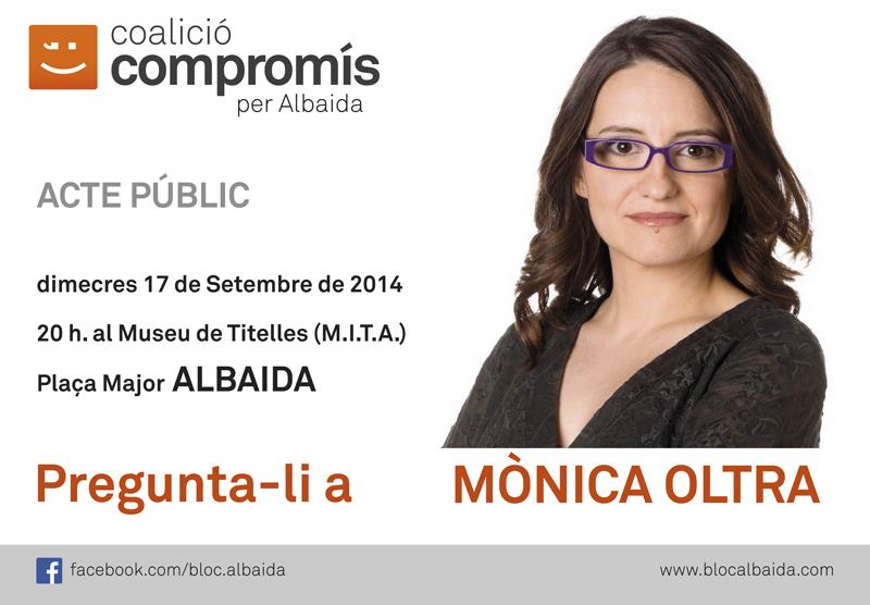 Pregunta a Monica Oltra